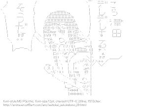 [AA]Amakusa Shino & Hagimura Suzu (Seitokai Yakuindomo)