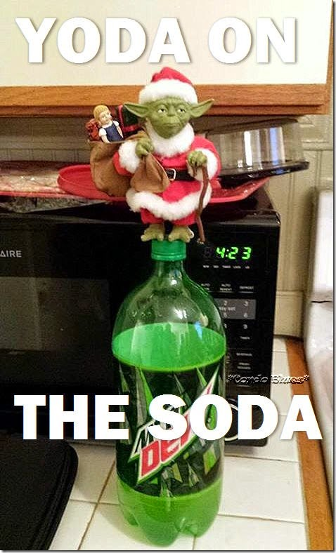 Yoda on the Soda