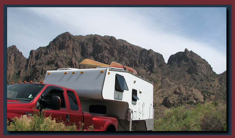Camper at Chisos