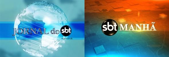 """Nova logomarca do """"SBT Manhã"""""""