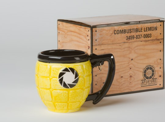 Portal 2 Lemon Grenade Mug from Jinx