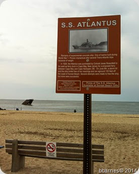 Sunset Beach SS Atlantus May 21