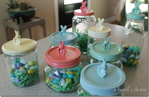 Bunny Jars for Gifts