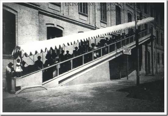1909 primera escalera