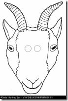 másca cabra imprimir  vamosdefiestas (2)