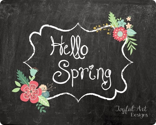 8x10 Hello Spring with watermark