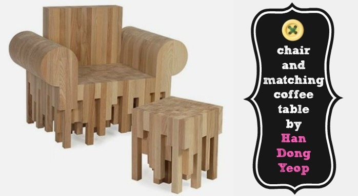this chair and matching coffee table by han dong yeop is unlike anything weve ever seen before this elegant design is truly for the person that has an all buy home office furniture give