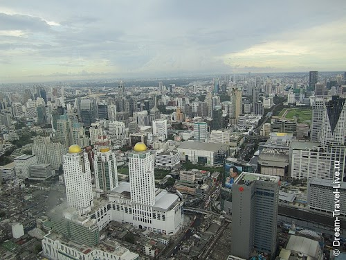 Вид на дневной Бангкок