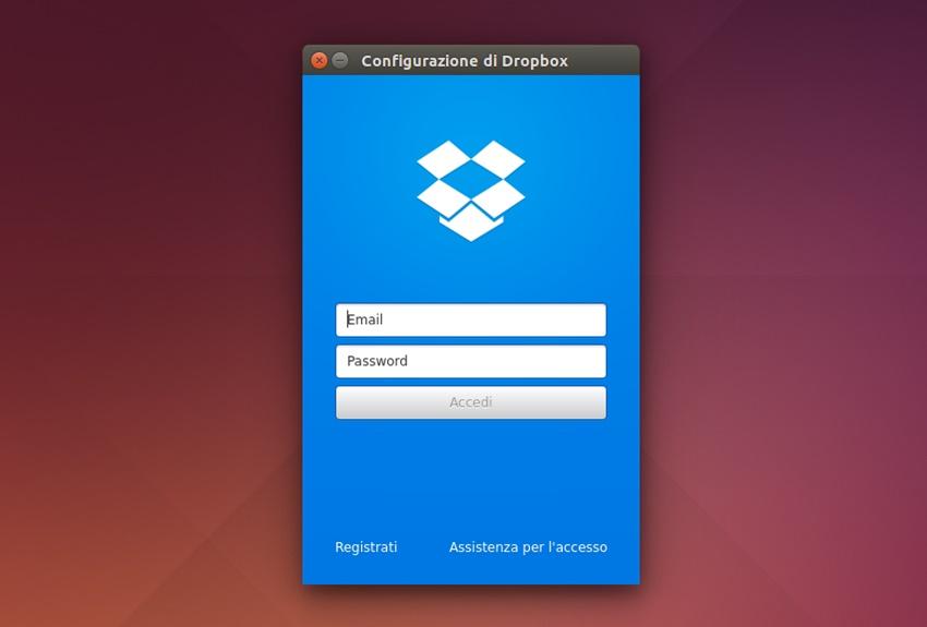 Dropbox 2.11.0 - Login
