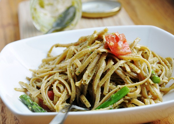 pesto linguine 208