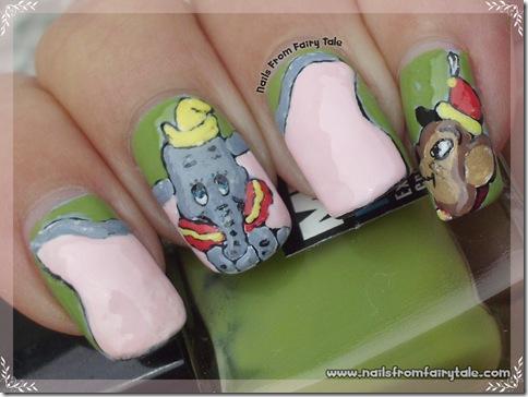 dumbo nail art 4