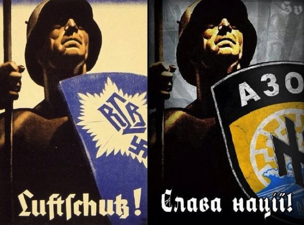 CC Photo Google Image Search Source is pbs twimg com  Subject is azov nazi