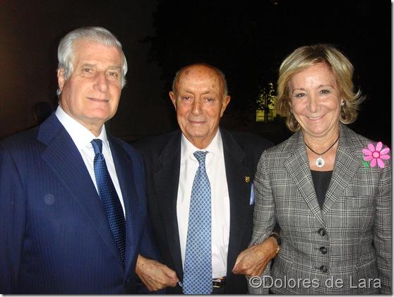 duque de Huescar ,LUCIO y ESPERANZA AGUIRRE