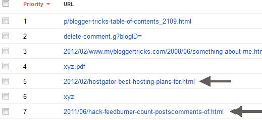blogger url errors