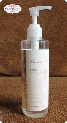 Nature Republic Rice Cleansing Water