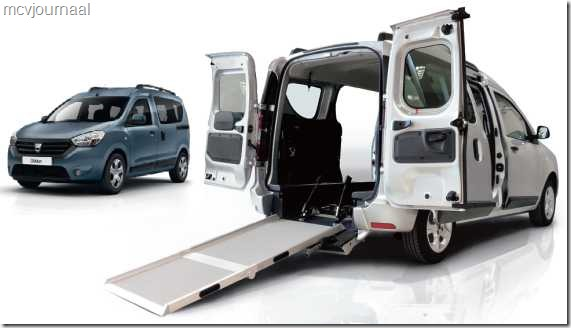 Dacia Dokker als rolstoelvervoer 03