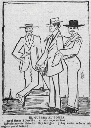1913-06-01 The Kon Leche Comentario del Guerra Caricaturas