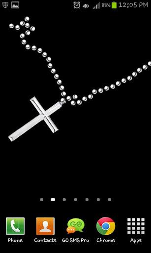 免費個人化App|十字架項鍊動態壁紙|阿達玩APP