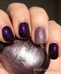 Nicole by OPI Here We Kome A-Karoling with All is Glam, All is Bright 3