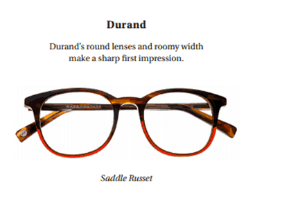durand saddle russet