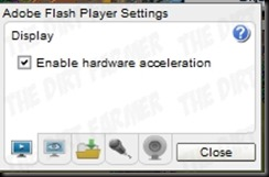 Flash Hardware Acceleration