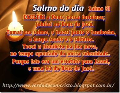 SALMO DO DIA 81