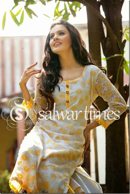 Umair Zafar's_Chikankari_Summer_Collection_2014(5)