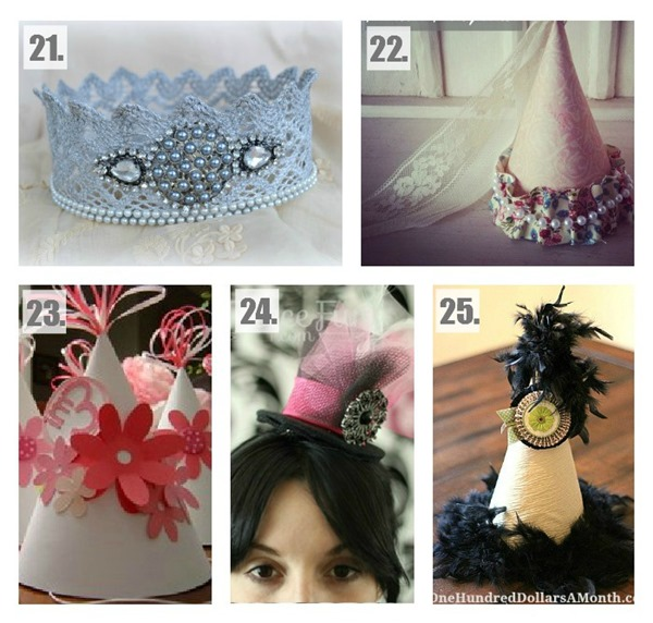 25 Amazing DIY Party Hat Tutorials