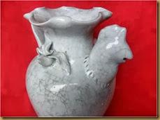 Vas bunga Ayam - kepala
