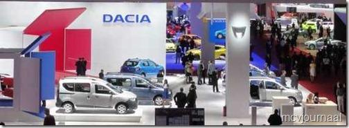 Dacia stand Parijs 2012 26