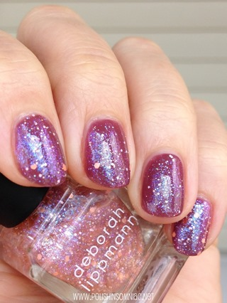 Deborah Lippmann Make Someone Happy over Let's Stay Together