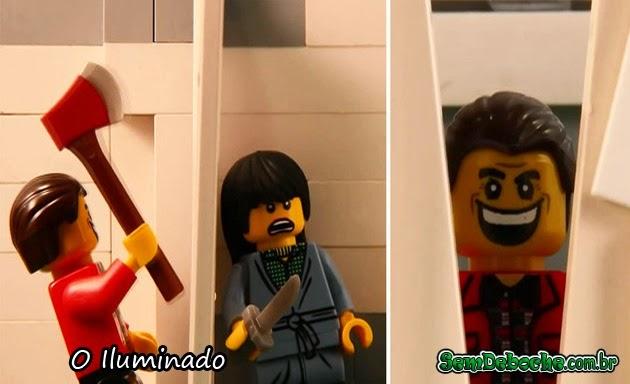 FILMES RECRIADOS EM LEGO: O ILUMINADO!