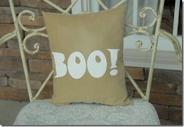 boo pillow