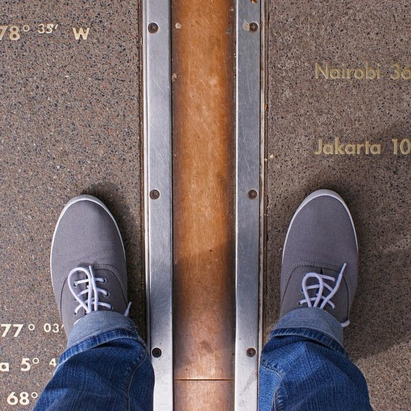 The Prime Meridian At The Royal Observatory, Greenwich