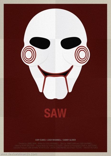 mascaras famosas minimalista cartazes desbaratinando  (13)