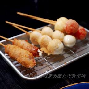 豚バラチーズ @ はなまる串かつ製作所