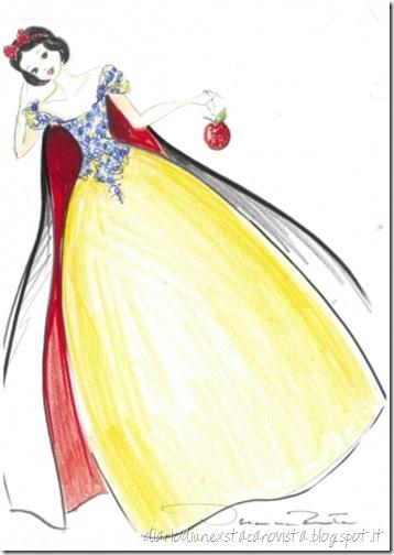Biancaneve by Oscar de La Renta