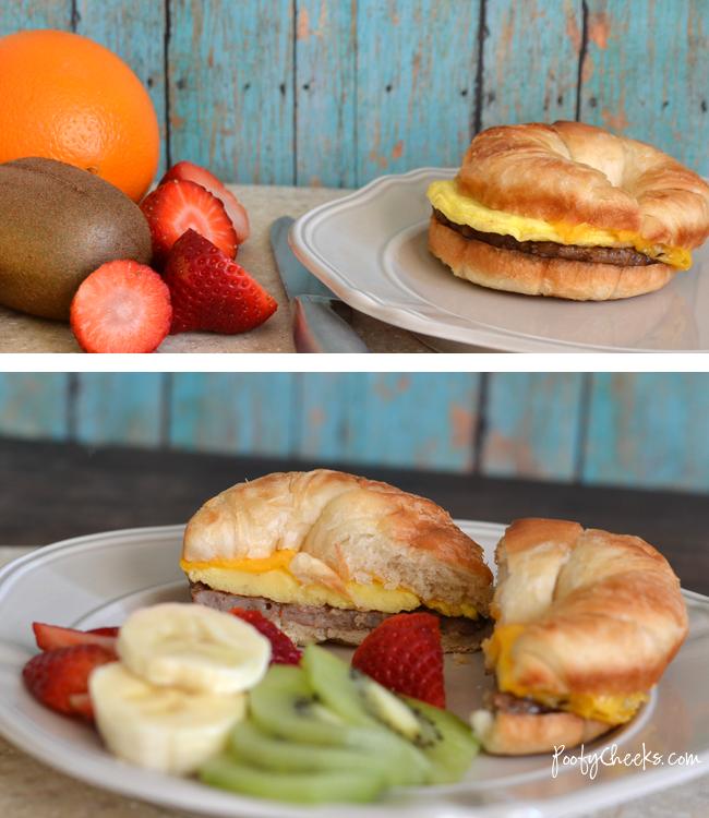Breakfast on the go - Jimmy Dean Redbox Breakfast