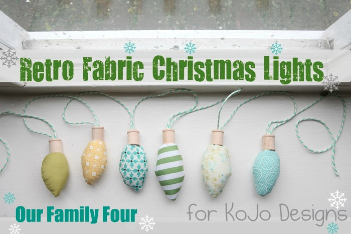 retro fabric christmas lights tutorial