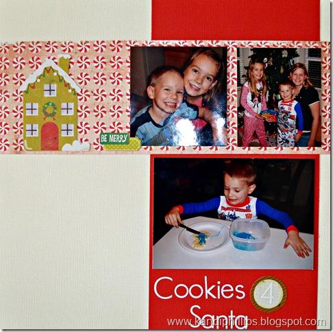 Cookies 4 Santa Brady