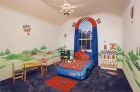 Contoh Desain Interior Kamar Anak-anak Imut dan Unik6