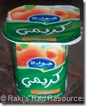 Yogurt Container - Arabic Writing