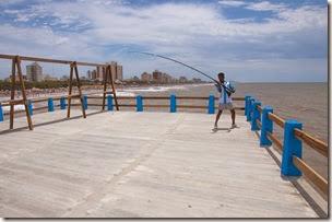 Muelle de pesca de Santa Teresita está en funcionamiento