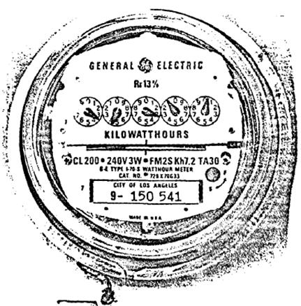 Kilowatthour Meter