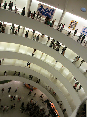 Museums of New York: Last level, looking down, Guggenheim