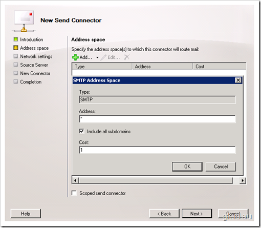 Exchange 2010 Beta, Configuration – Part 2/3 exchange 2010 exchange