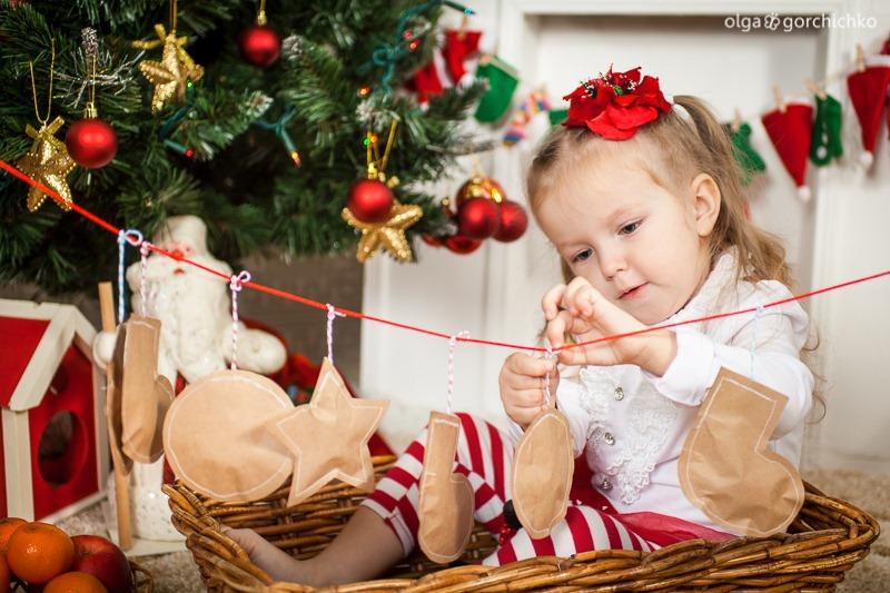 Детский новогодний фотопроект Рождественские мечты. 1. Варя-20