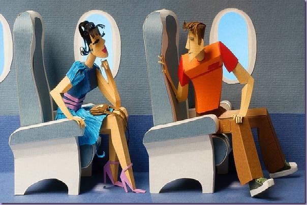 Avião-Papel-Mulher-Homem-Janela