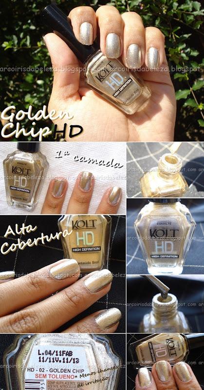 Unhas de Ouro -  Goldem Chip – Kolt