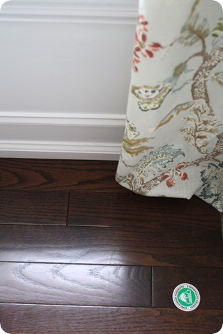prefinished dark hardwoods
